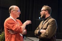 Georg Popp og James Ewen